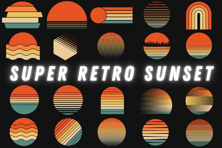 Super Retro Sunset Set