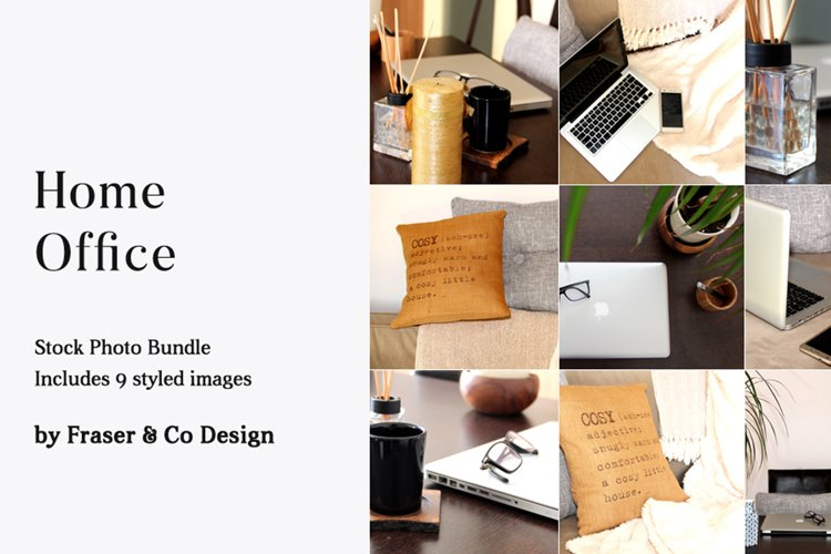 Home Office - Stock Photo Bundle example image 1