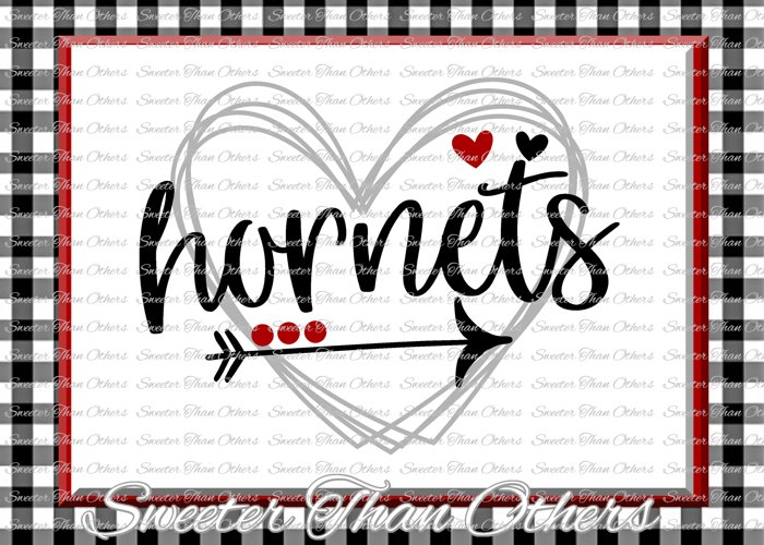 Hornets Svg, Football Hornet, Baseball Hornet, Basketball example image 1