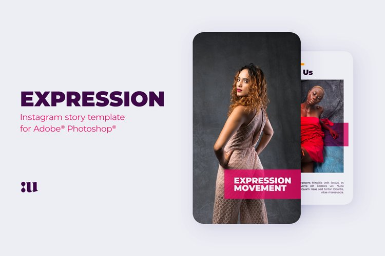 Expression - Instagram Story Template example image 1