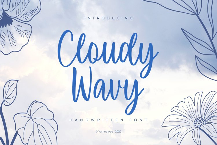 Cloudy Wavy example image 1