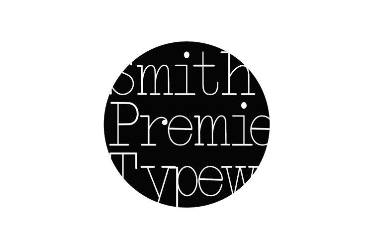 Smith-Premier Typewriter example image 1