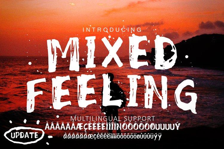 Mixed Feeling Font example image 1