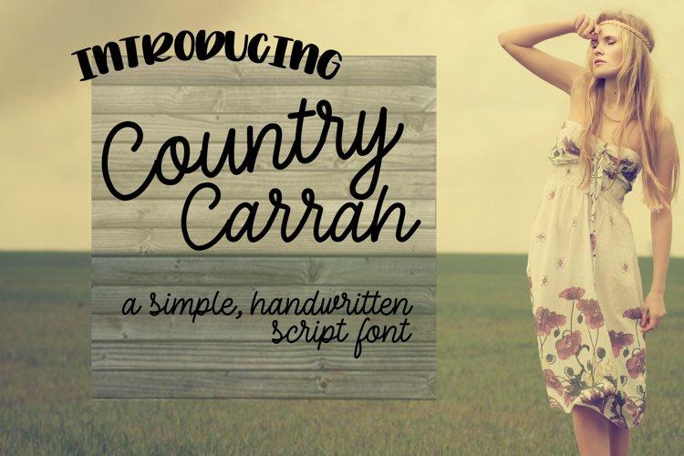 Country Carrah