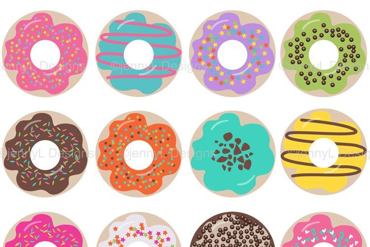 Donut Clipart SET