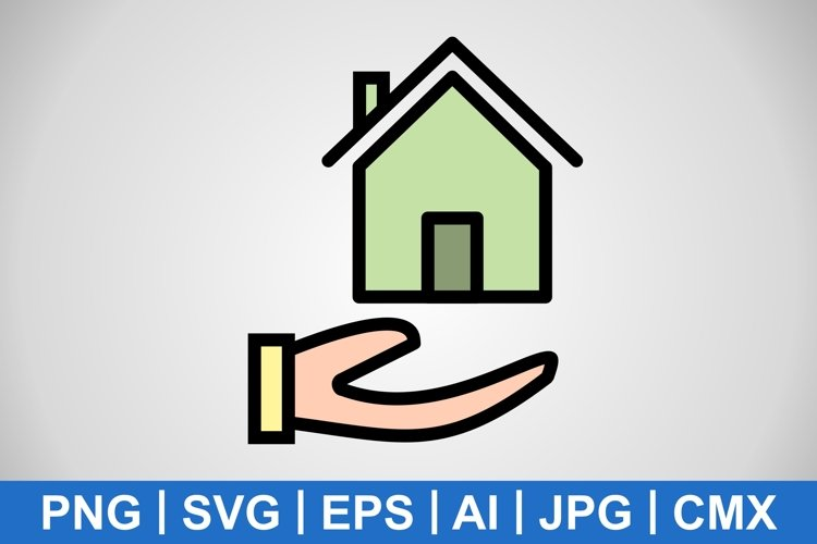 Vector Mortgage Icon example image 1