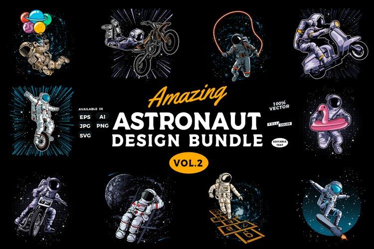 Amazing Astronaut Design bundle