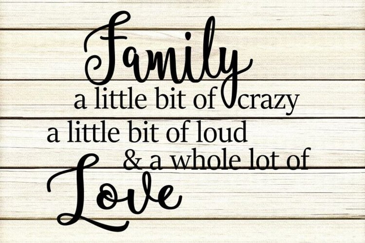 Family Quote Family Quotes 403202 Cut Files Design Bundles