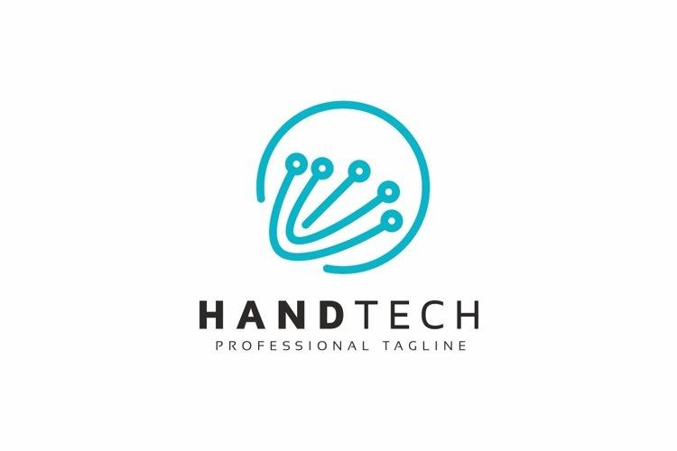 Hand Tech Logo example image 1