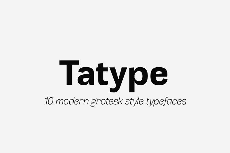 Tatype example image 1