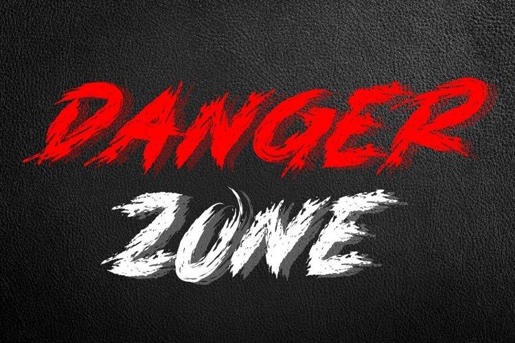 DANGER ZONE example image 1