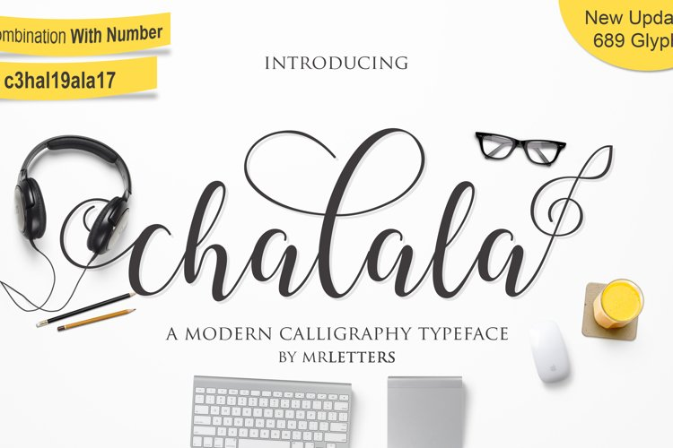 Chalala Script example image 1