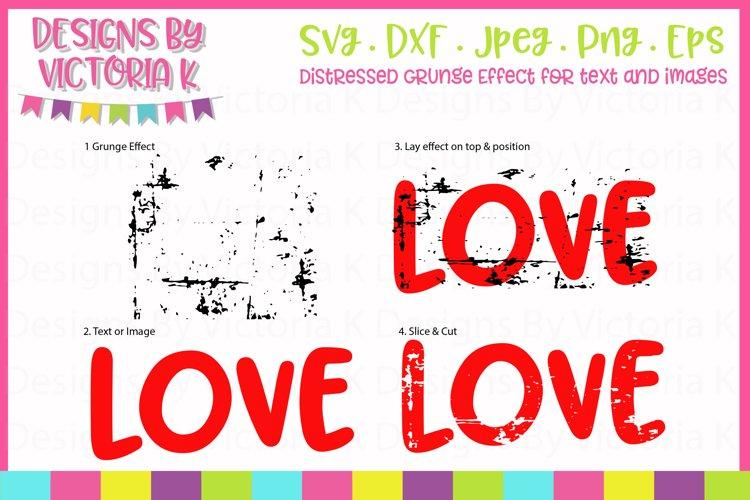 Grunge Effect, Distressed effect, SVG, DXF, PNG - Free Design of The Week Design0