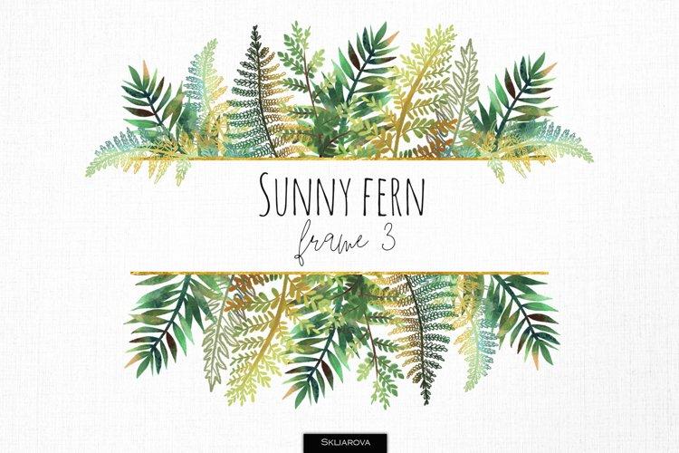 Sunny fern frame #3 example image 1