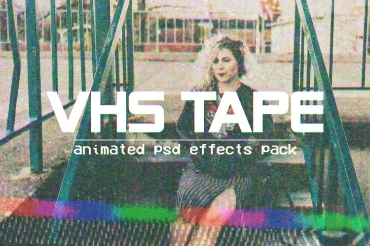VHS Tape - Animated PSD Effects Pack