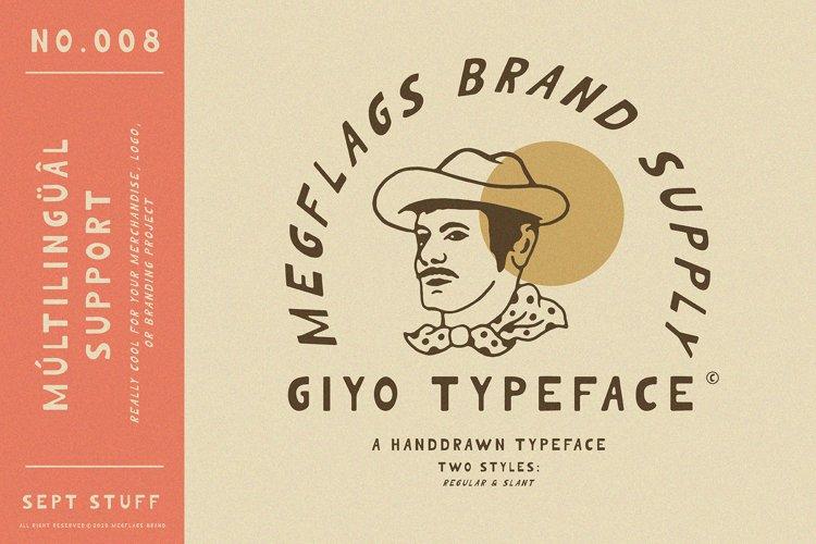 Giyo Typeface example image 1