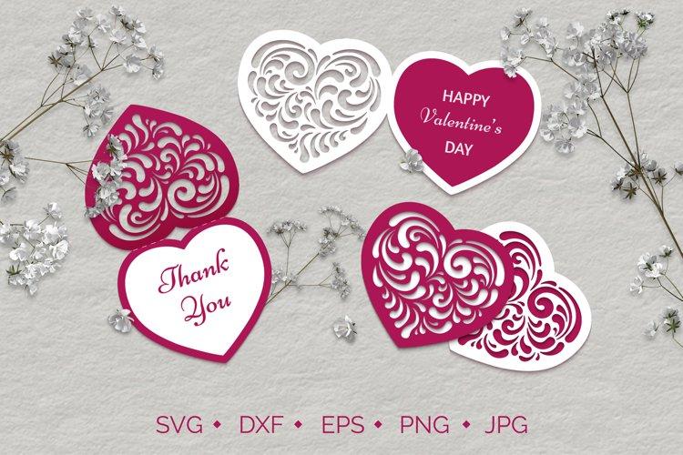 Valentines Day Hearts SVG