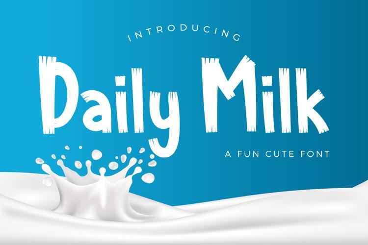 Daily Milk example image 1