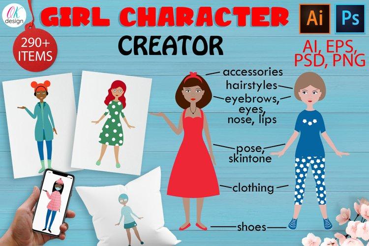 Girl character CREATOR example image 1
