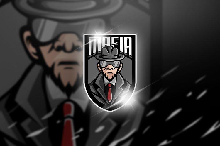 mafia - Mascot & Esports Logo example image 1