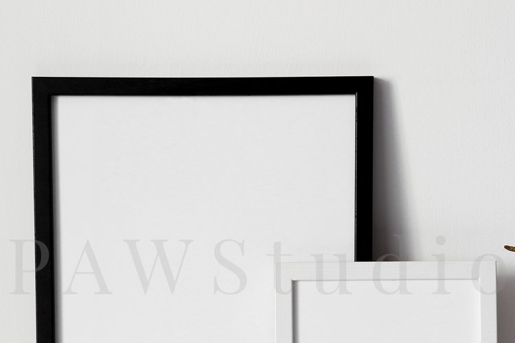 Black and White Photo Frame Mockups example 2