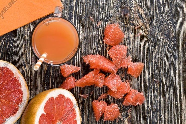 real bitter grapefruit juice example image 1