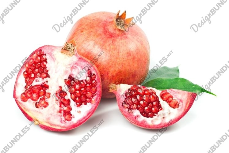 Pomergranate and slice example image 1