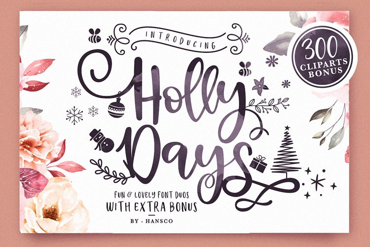 Holly Days example image 1