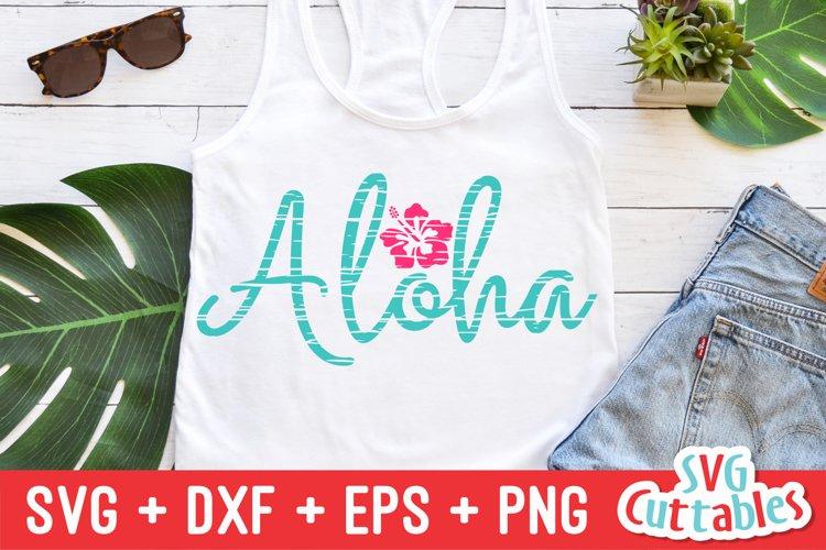 Summer SVG   Aloha   Shirt Design example image 1