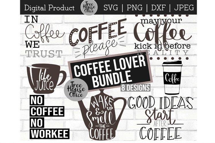 Coffee Java Bundle, Coffee Lover, Espresso SVG, PNG JPEG DXF