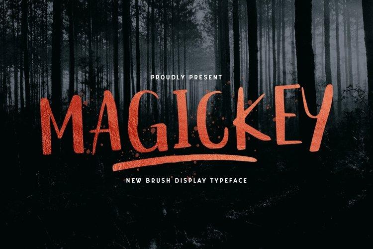 Web Font Magickey example image 1