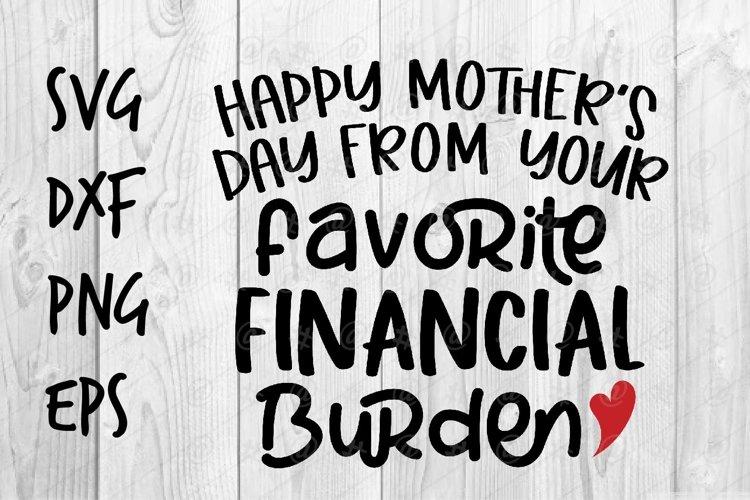 favorite financial burden SVG design example image 1