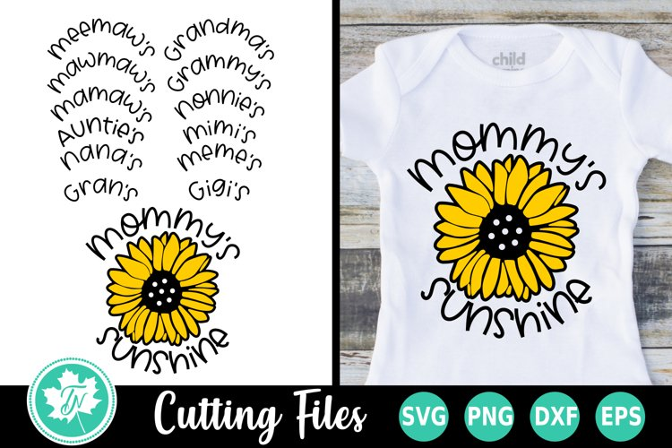 Sunshine Sunflower - A Summer SVG Cut File