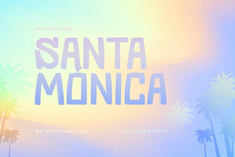 Santa Monica Cool Font example image 1
