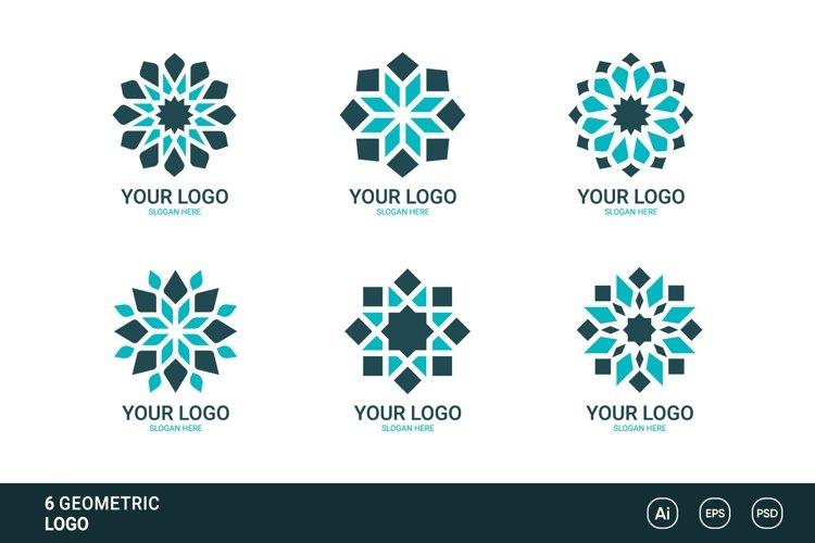 6 Geometric Logo Collection
