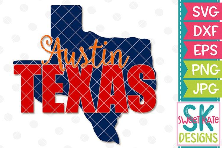 Austin Texas SVG DXF EPS PNG JPG