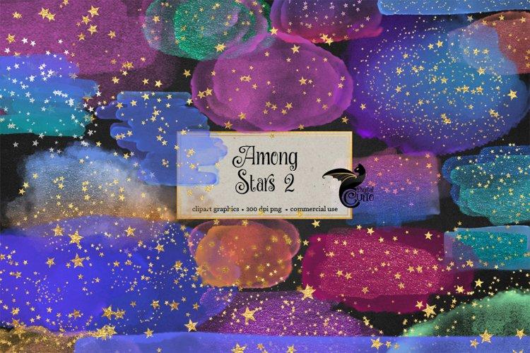 Among Stars 2 Clipart