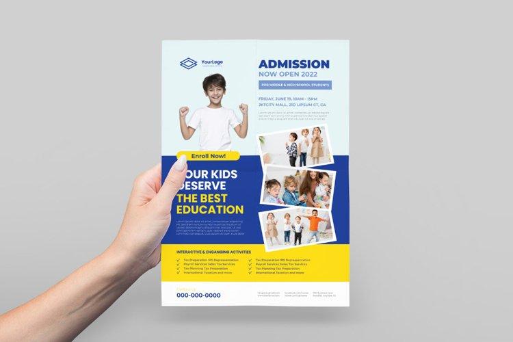 Kid's School Flyer example image 1