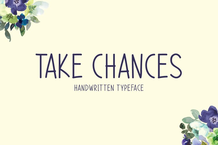 Take Chances example image 1
