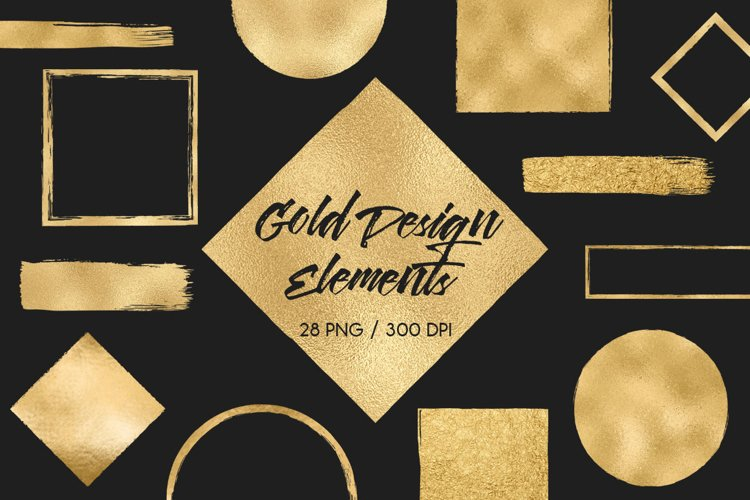 Gold Design Elements example image 1