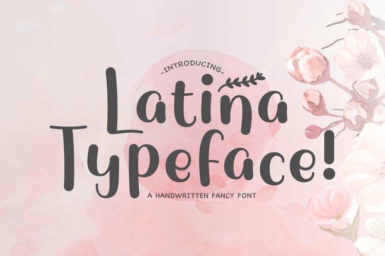 Web Font Latina example image 1