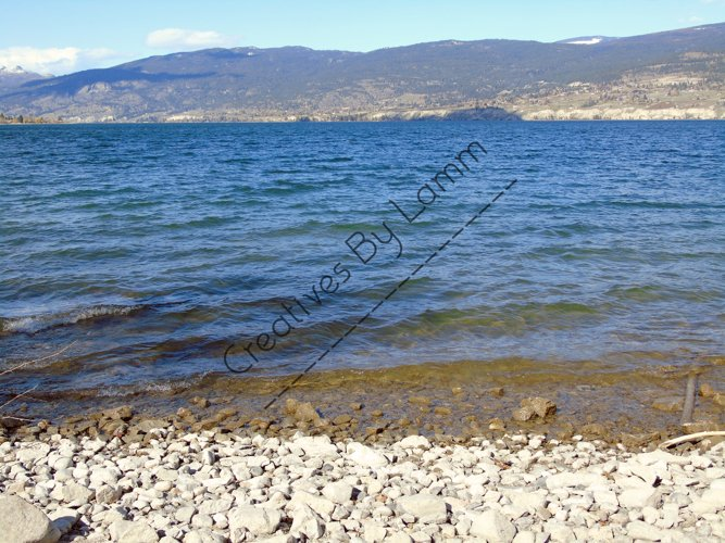 Lake and Mountains Photography example image 1