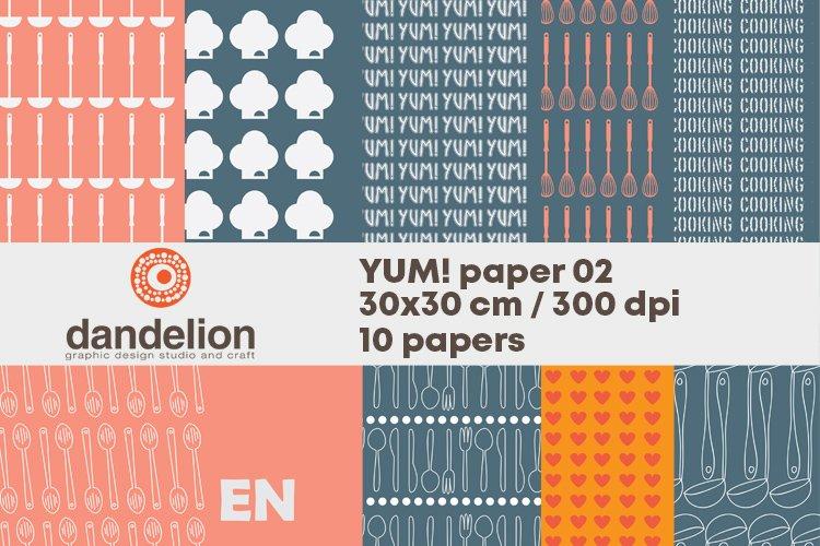 YUM!paper set example image 1