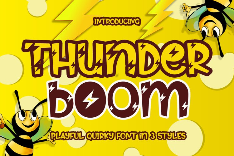 Thunder Boom example image 1