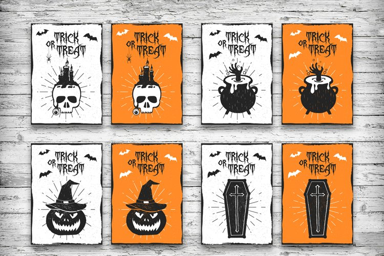 Halloween. 20 Greeting Cards - Free Design of The Week Design2