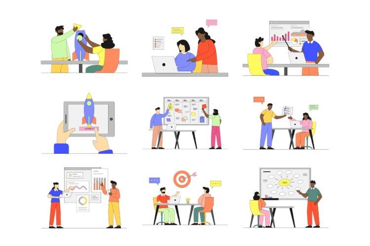 Startup Business Illustration Vol 3