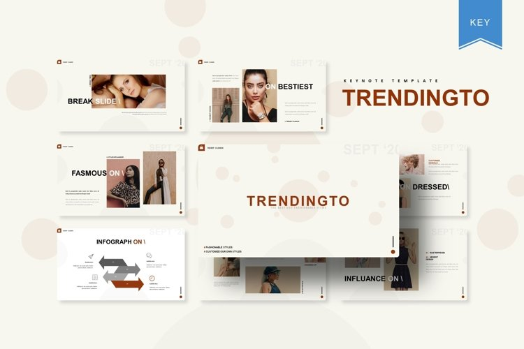 Trendinto | Keynote Template example image 1