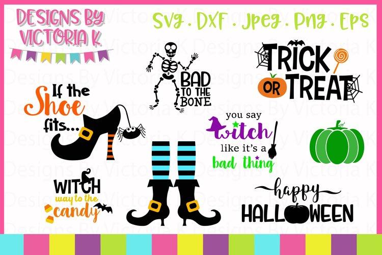 Mini Halloween Bundle SVG Cut Files example image 1