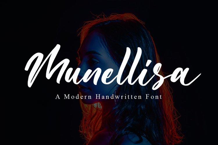 Munellisa - Elegant Font example image 1