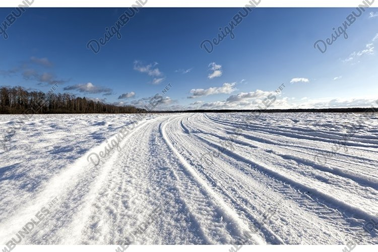 winter road example image 1
